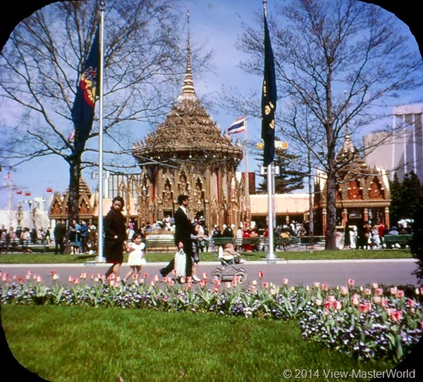 View-Master New York World's Fair 1964-1965 (A671),Scene 8: Thailand Pavilion
