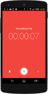 Wear Audio Recorder Screenshot