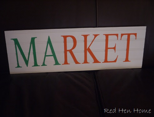 Red Hen Home Beadboard Signs