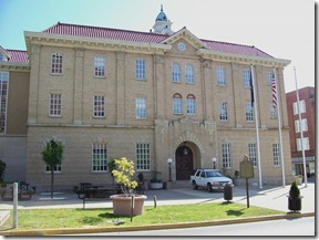 Little Bits of History Along U S  Roadways: Pike Co  Courthouse and Jail