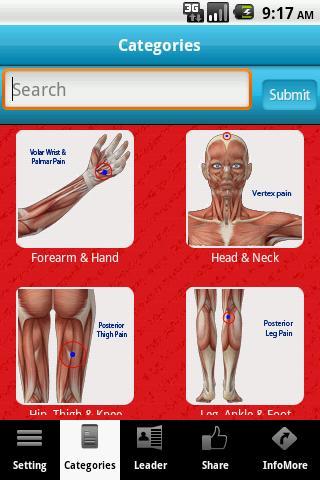 Muscle Trigger Points LITE- screenshot