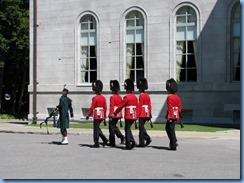 6526 Ottawa 1 Sussex Dr - Rideau Hall - Ceremonial Guard performing the Relief of the Sentries