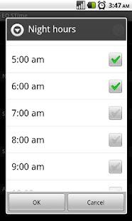Speaking Clock - EQ STime- screenshot thumbnail