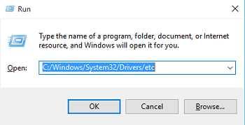 Cách thay đổi, chỉnh sửa file hosts