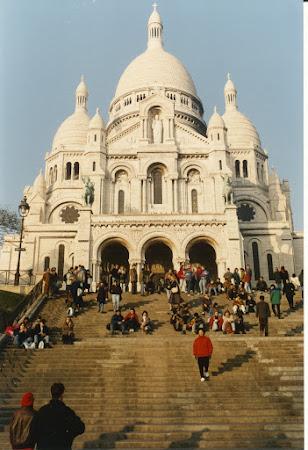 Imagini Franta: Sacre Coeur Paris