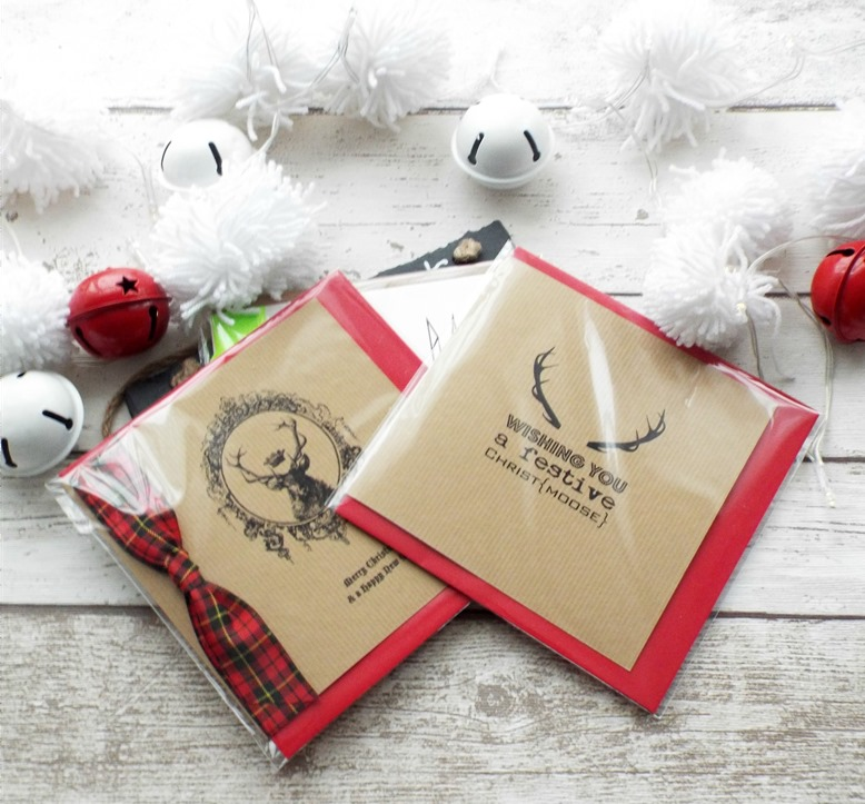 made with love christmas card trio