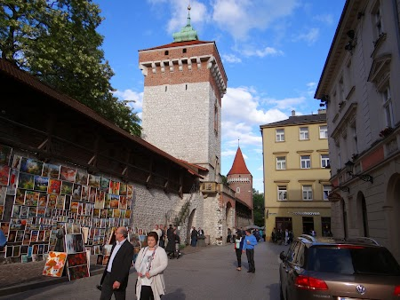 13. Zidul de apare al cetatii Cracovia.JPG