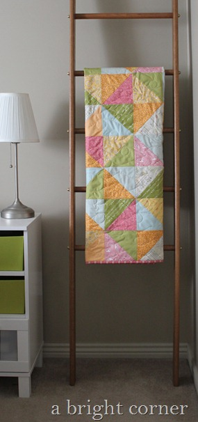 Sweet Talk quilt from A Bright Corner