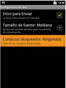 Bloquear en Android