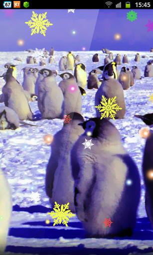 Crazy Penguins Frozen Xmas HD