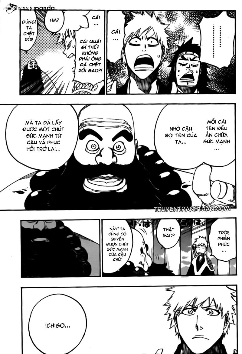 Bleach chapter 611 trang 13