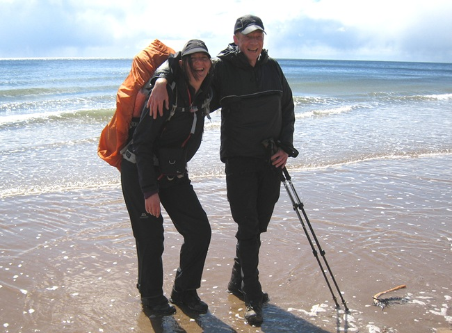 VICKY & TOBY, ST CYRUS. GREAT FIRST TIMERS
