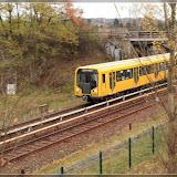U5 Richtung Alexanderplatz - zwischen Biesdorf und Tierpark