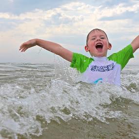 Lake Michigan Love by Jeremy Church - Babies & Children Children Candids ( water, michigan, lake michigan, kids )