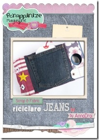 5-scrapbooking - tutorial - mini album jeans