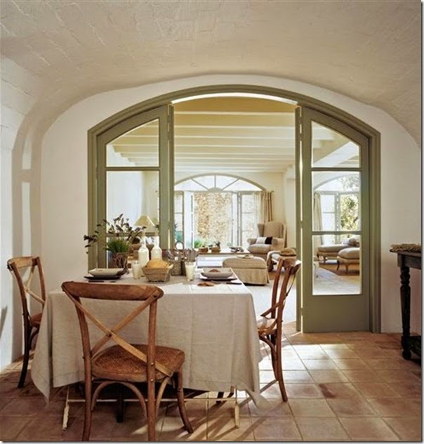Casa colonica ristrutturata in spagna case e interni for Interni case classiche