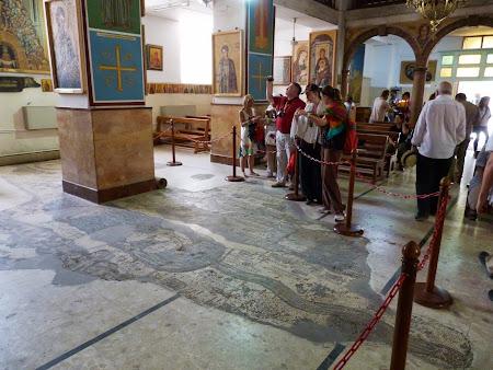 Obiective turistice Iordania: Mozaic Madaba