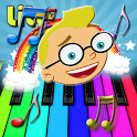 Kids Piano Games FREE icon