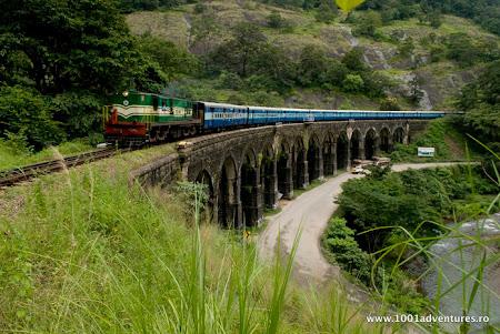 Vacanta Kerala: Trenulet in India de Sud