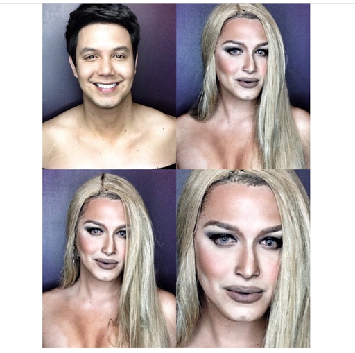 PHOTOS: Dad Transforms Himself Into Celebrities Using Makeup And Wigs 15
