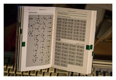 Seiten mit Codes aus dem Buch Geocaching II