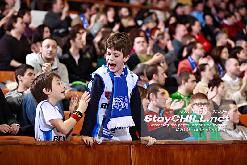 Tineri susținători / BC Mureș - Dinamo București, 3 martie 2012