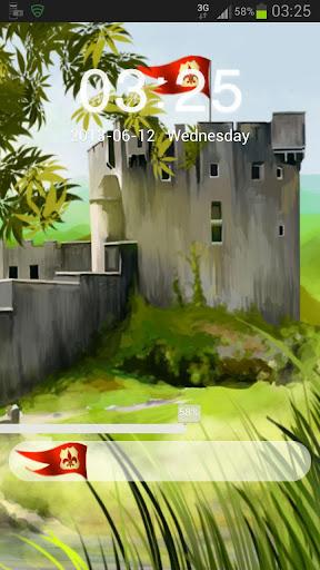 GO Locker Theme Castle Buy