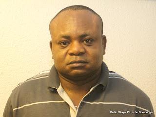Tshivis Tshivuadi, secrétaire général de Jed. Radio Okapi/ Ph. John Bompengo