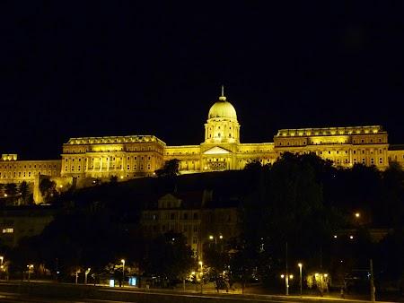 Budapesta noaptea - Palatul Buda