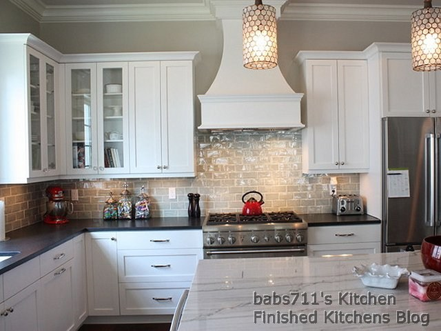 Finished Kitchens Blog: babs711\'s 2nd Kitchen