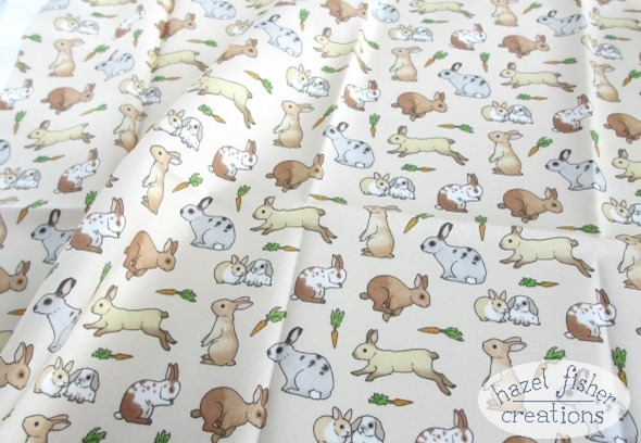 2014 August 07 rabbits cotton fabric spoonflower hazel fisher creations