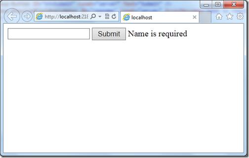 Unobtrusive validation in asp.net 4.5