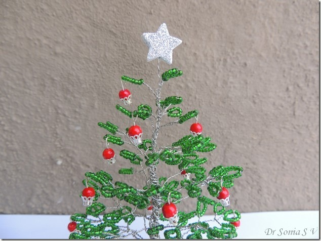 Beaded tree tutorial 17