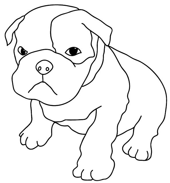 Perros De Raza Colorear Dibujos