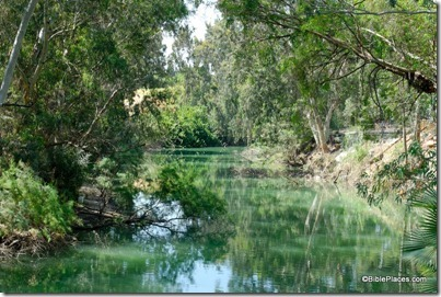 Jordan River at Yardenit, tb052908536