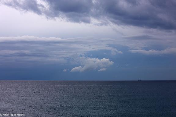 El mar des de la punta de l'Arrabassada Tarragona, Tarragones, Tarragona