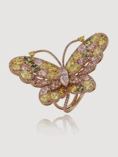 Red Carpet Collection Butterfly ring 829507-5002