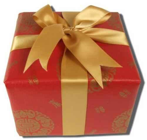 regalo navideño muy elegante
