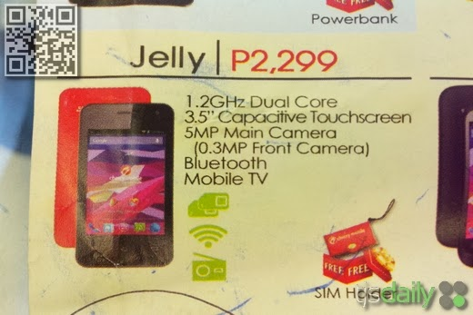 Cherry Mobile Jelly Leak