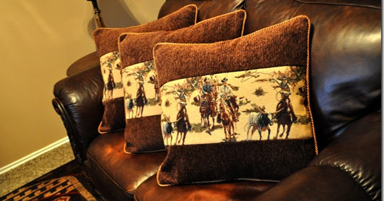 The Autocrat Western Couch Pillows
