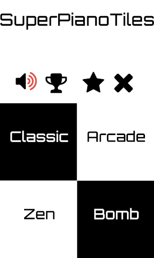 SuperPianoTiles - Piano Tiles