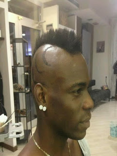 Check Out Mario Balotelli's New Hair Style 2