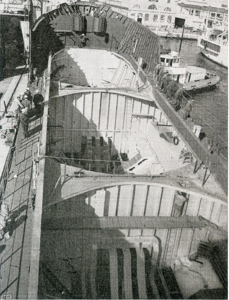 Espacio para la ubicación de los tanques. Foto Ingenieria Naval. Septiembre de 1965.jpg