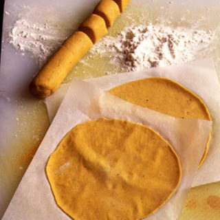 Curry-Scented Pancakes.
