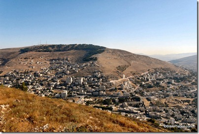 Mount Ebal and Shechem from Mount Gerizim, tb070507676