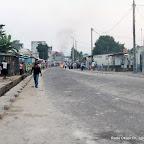 Une des avenues de Kinshasa, après l'annonce de la victoire de Kabila par la Ceni le 9/12/2011 pour la présidentielle de 2011 en RDC. Radio Okapi/ Ph. John Bompengo
