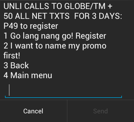 how to register to globe gosakto