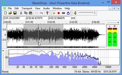 WaveShop Audio Editor – Open Source