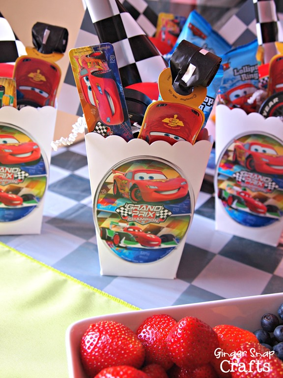 Cars party favors #cbias
