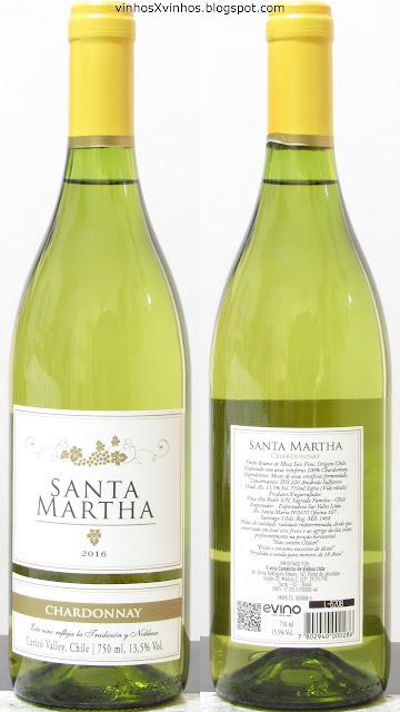 Vinho Santa Martha Chardonnay